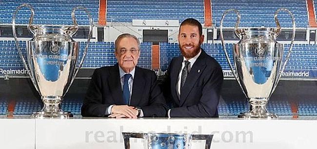 Foto: 'Toekomst Sergio Ramos lijkt nu al duidelijk'