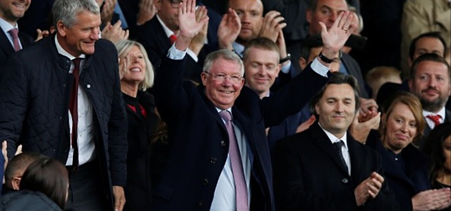 Foto: 'Sir Alex Ferguson haalde Ronaldo over'