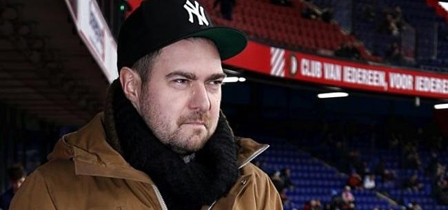Foto: Mossou verbaast zich om fragment uit Feyenoord-docu