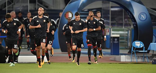 Foto: 'Opstelling Feyenoord: opvallende nieuwe spits'