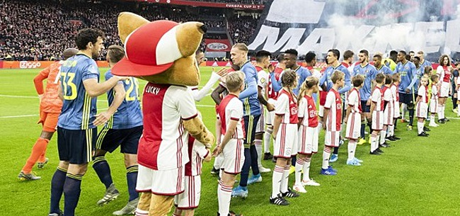 Foto: Ajax-Feyenoord zorgt nu al voor rel: