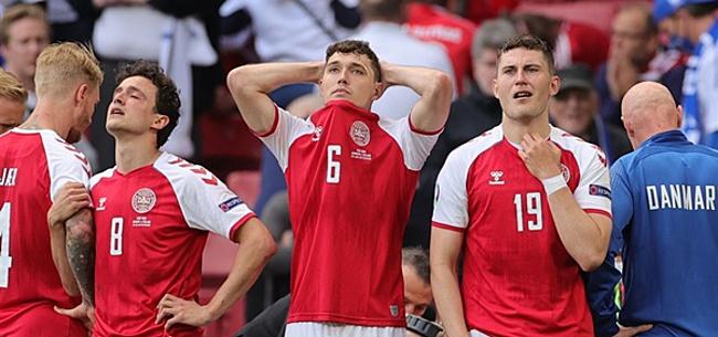 Foto: 'Bizar dreigement UEFA richting Denemarken'