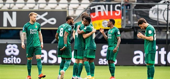 Foto: Feyenoord stort in tegen Heracles: