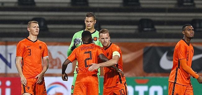 Foto: De 11 namen bij Jong Oranje: Scherpen op doel, Teze vervangt Botman