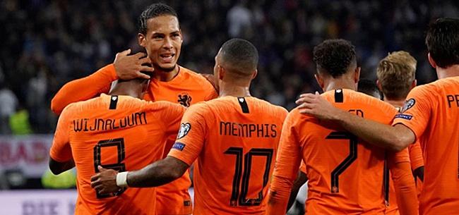Foto: Bizarre Oranje-cijfers zorgen voor ophef: 'Landverraad in De T.!'