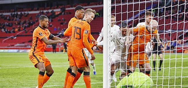 Foto: 'Nachtmerrie Oranje-fans komt uit'