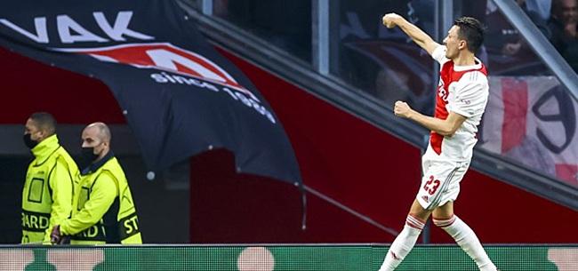 Foto: Berghuis: 'Feyenoord-sneer? Zo leg jij het dan weer uit, jammer'