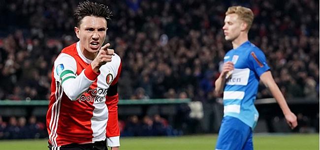 Foto: Berghuis baalt van verval Feyenoord: