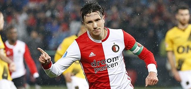 Foto: Berghuis onthult: 'Dat heb ik geleerd van Kuyt en Van Persie hier bij Feyenoord'
