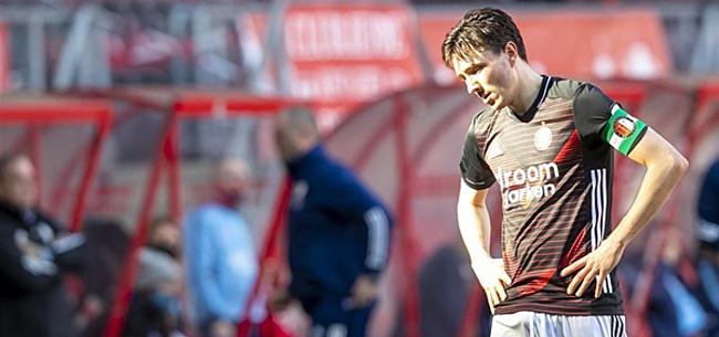 Foto: 'Bizarre actie losgeslagen Feyenoord-spelers'