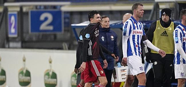 Foto: Feyenoord-fans gaan los op eigen speler: 'Opzouten'