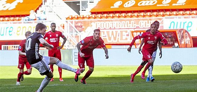 Foto: NOS zorgt voor grof schandaal na Twente - Feyenoord