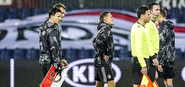 Foto: Harde kritiek op 'vedette' Feyenoord: