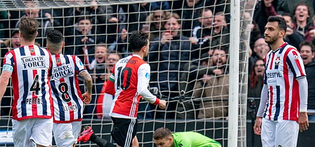 Foto: Feyenoord blijft onverstoorbaar en klopt ook Willem II