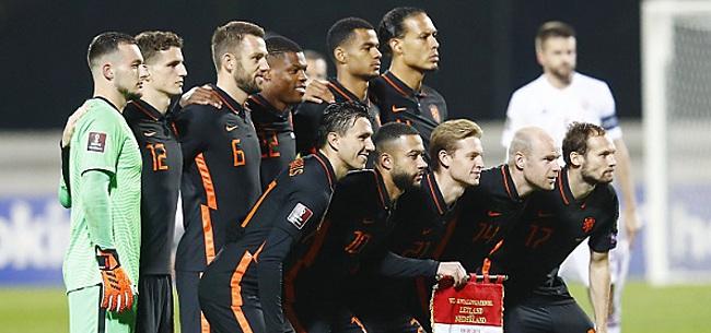 Foto: 'KNVB zorgt voor Nederlands elftal-rel'