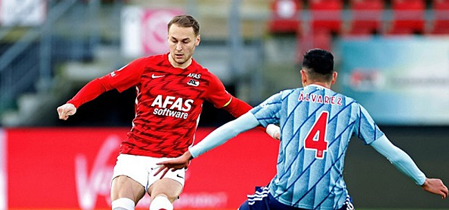 Foto: KNVB verrast met topnieuws voor AZ richting Ajax-uit