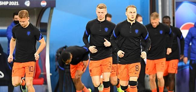 Foto: Nederlands elftal en Jong Oranje hebben hetzelfde probleem
