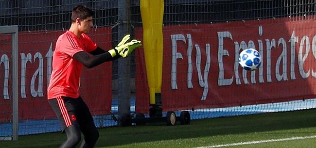 Foto: Courtois: 'Ajax heeft fouten gemaakt, maar het was ook pech'