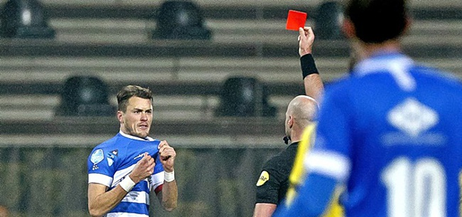 Foto: KNVB legt Lam lange schorsing op na rode kaart