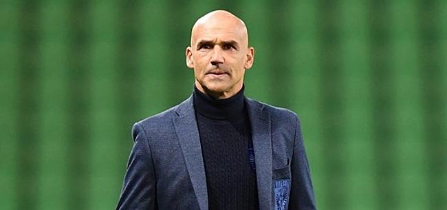 Foto: Vitesse-trainer Letsch heeft pijnlijke boodschap voor Feyenoord