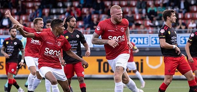 Foto: Corona-uitbraak vlak voor wedstrijd Almere City