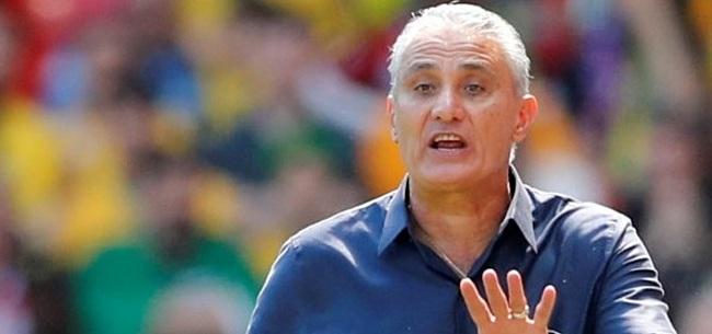Foto: Brazilië-selectie levert Tite flinke kritiek op: