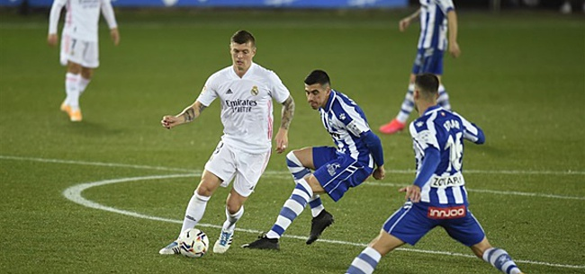 Foto: Real Madrid speelt frustratie van zich af tegen Alavés