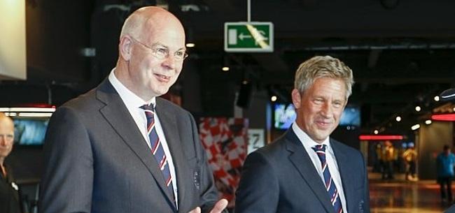Foto: Gerbrands bijt van zich af: 'PSV draagt zelf tonnen aan euro's per jaar bij'