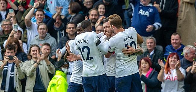 Foto: Tottenham wint weer eens, Leicester morst