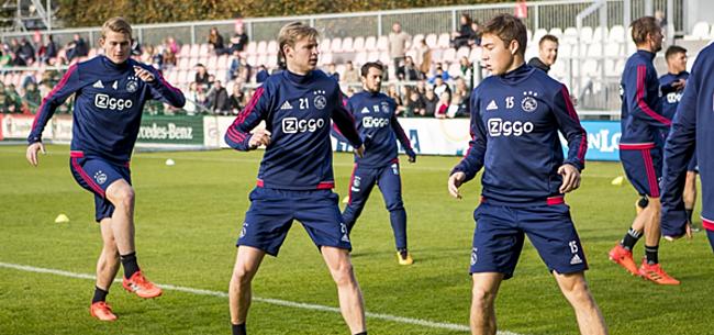 Foto: 'Ajax krijgt jammerlijk nieuws te verwerken'