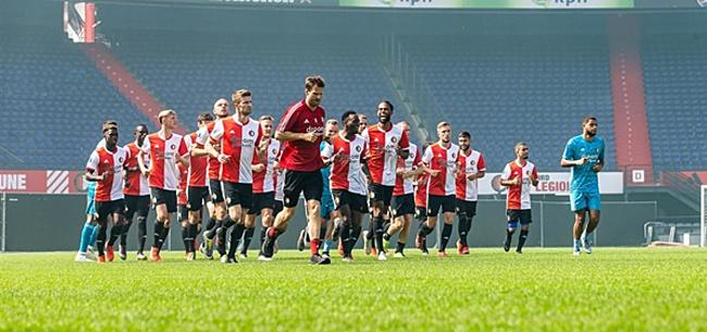 Foto: Feyenoord-training levert goed en slecht blessurenieuws op