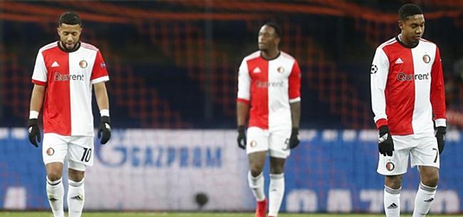 Foto: Incidenten bij Feyenoord: