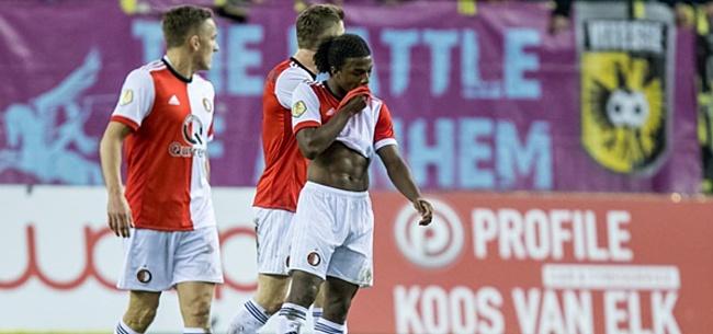 Foto: Feyenoorder in de problemen: