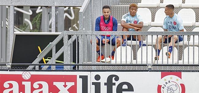 Foto: 'Ajax-selectie botst met Erik ten Hag'