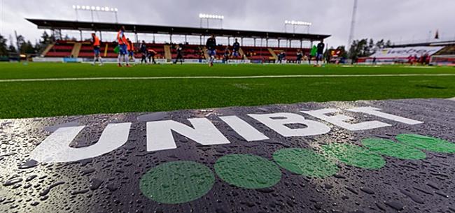 Foto: Eredivisie-clubs lopen polonaise door gokmarkt