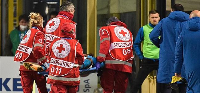 Foto: Napoli-recordaankoop Osimhen in ziekenhuis met hoofdletsel