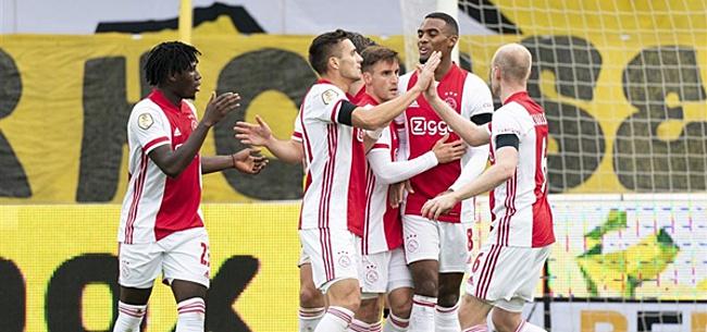 Foto: Discussie over monsterscore Ajax: