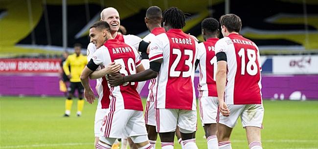 Foto: 'Competitievervalsing bij VVV-Ajax'