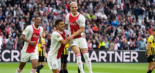 Foto: 'Enorme boost voor Ajax richting Sporting-uit'