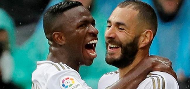 Foto: Vinicius leert van teamgenoot: