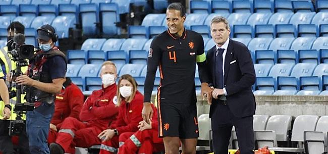 Foto: 'Dan had Van Dijk misschien wel voor Suriname gespeeld'