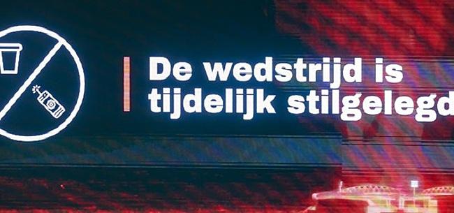 Foto: Statement KNVB na ongeregeldheden: