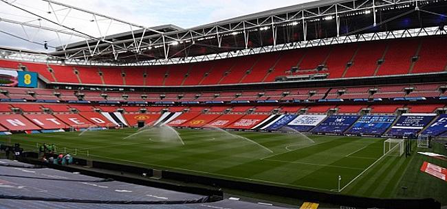 Foto: Fors aantal fans bij EK-finale op Wembley