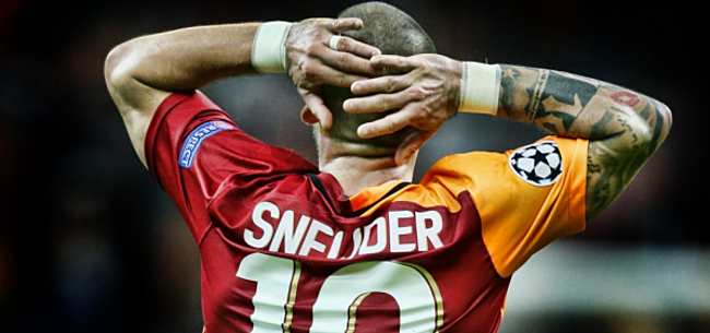 Foto: 'Galatasaray: Sneijder mag weg voor dit bedrag'
