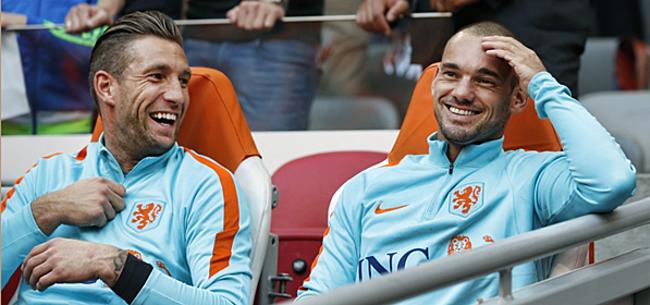 Foto: 'Sneijder krijgt dramatisch nieuws in persoonlijk gesprek'