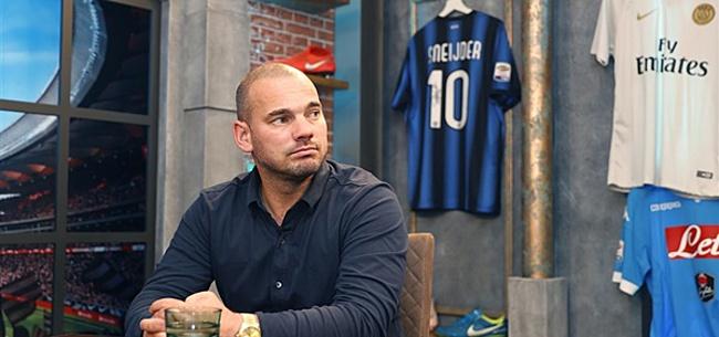 Foto: Wesley Sneijder waarschuwt voor Oranje-gevaar
