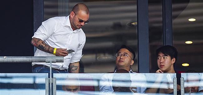 Foto: Sneijder: 'Ik hoop ook écht dat hij het gaat waarmaken'