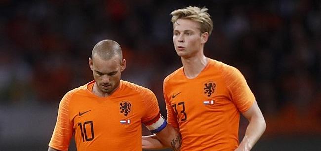 Foto: Sneijder vol lof over zijn 'natuurlijke Oranje-opvolger: