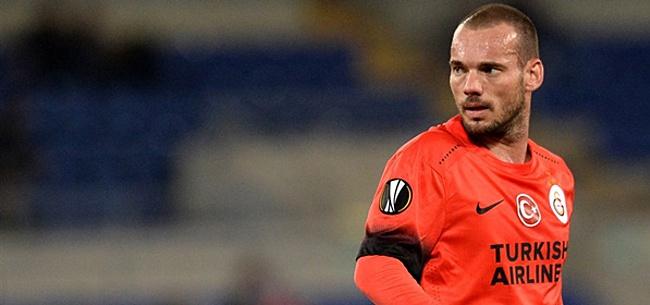 Foto: Sneijder wijst club aan waar hij trainer wil worden: