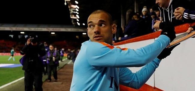 Foto: Sneijder gaat vermogen verdienen in Qatar